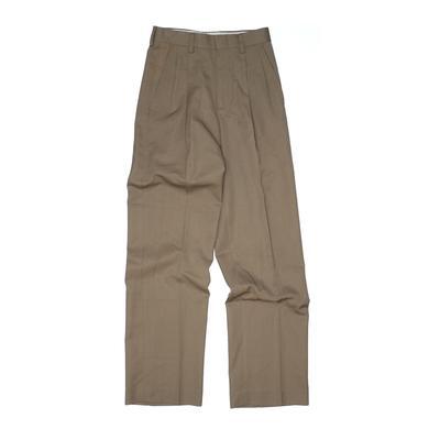 Nordstrom Dress Pants: Green Bottoms - Size 10 Slim