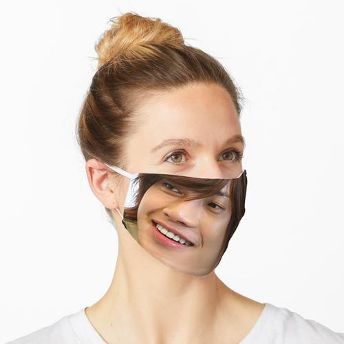 Mode-Haarschnitt mit Ji Hoo Maske