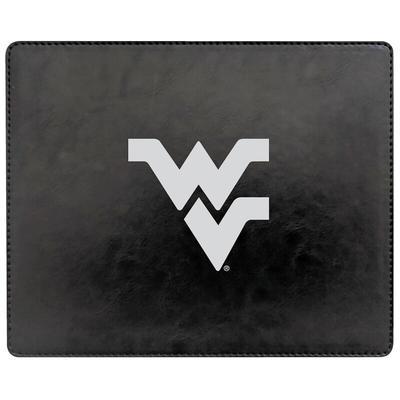 """West Virginia Mountaineers Alumni V2 Leather Mousepad"""