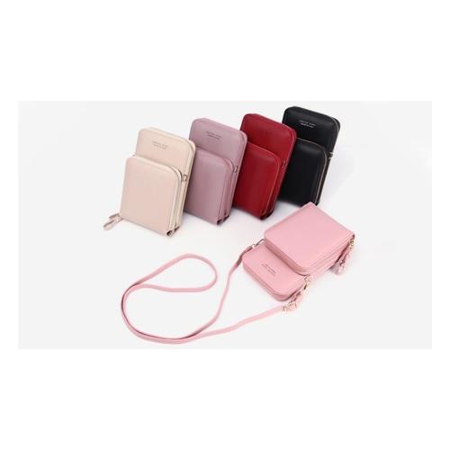 Handy-Umhängetasche: Lila