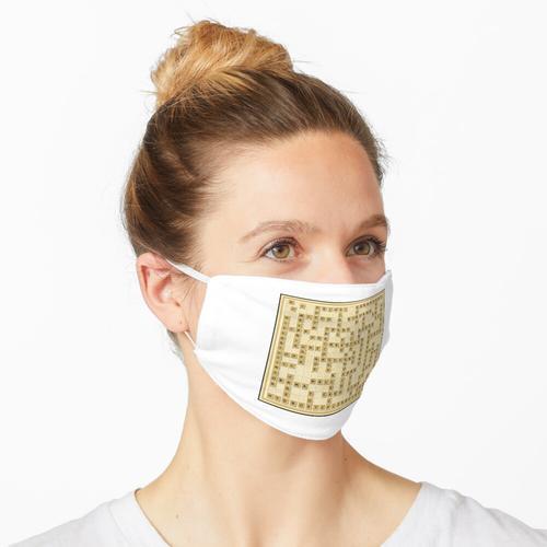 DJT Wortspiel Maske