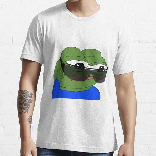 Sonnenbrille Pepe The Frog, SELTENE Pepe The Frog, Pepe The Frog mit Sonnenbrille, Essential T-Shirt