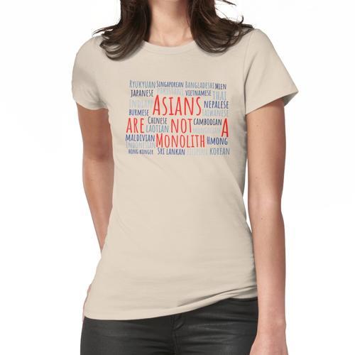 Nationalitäten Frauen T-Shirt