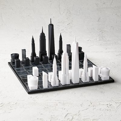 Skyline Chess Acrylic/Wood Map E...