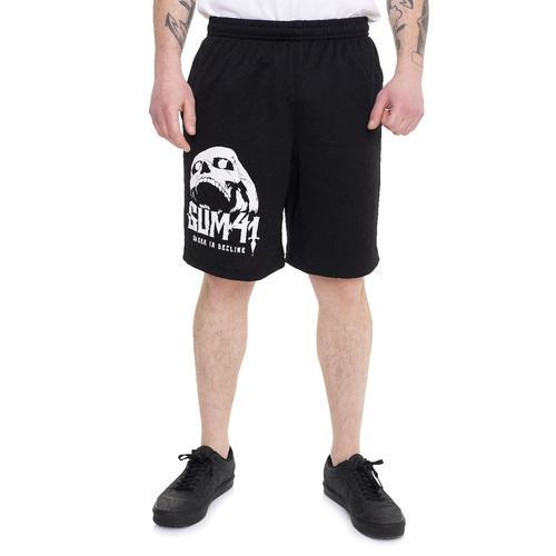 Sum 41 - Skull Zip - Shorts