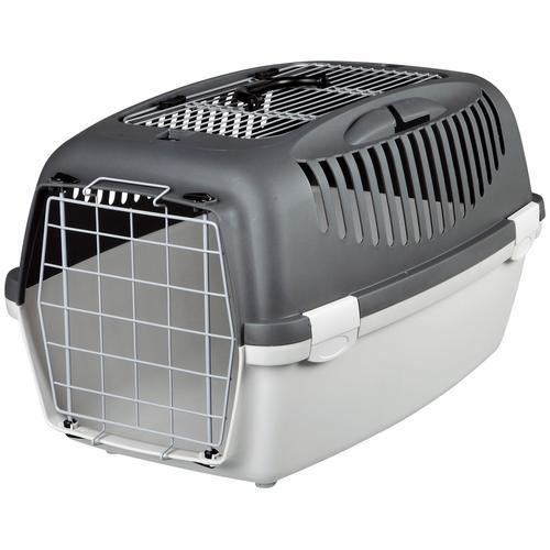 TRIXIE Tiertransportbox Capri 3, BxTxH: 40x61x38 cm grau Hundetransport Hund Tierbedarf