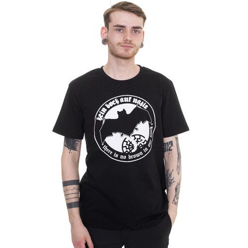 Kein Bock Auf Nazis - Fledermaus - - T-Shirts