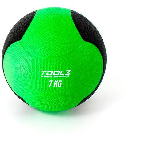 TOOLZ Medicine Ball Medizinball in gruen, Größe 7