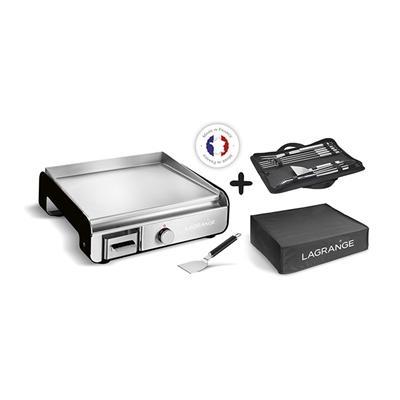 Plancha Pro Noir avec kit accessoire et housse de protection 219052 2300 W Lagrange