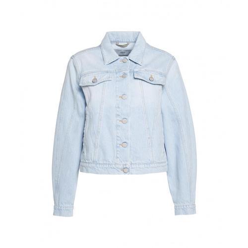 Closed Damen Organic Denim Jacket Bryn Blau