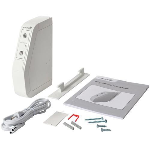 SCHELLENBERG Rollladengurt-Antrieb Rollodrive 75 PREMIUM weiß Rolladensteuerung Smart Home Haus