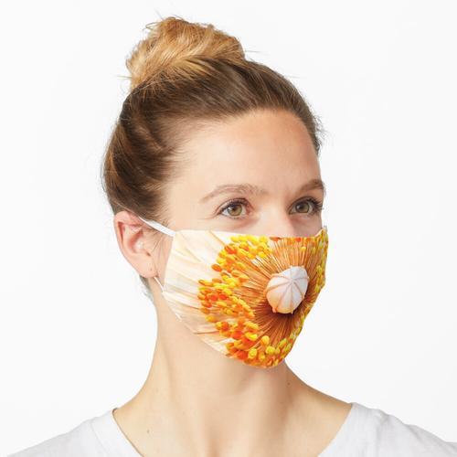 Duftende gelbe Blume Maske