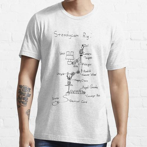 Steadycam-Diagramm Essential T-Shirt