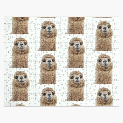 Lamas oder Alpakas Puzzle
