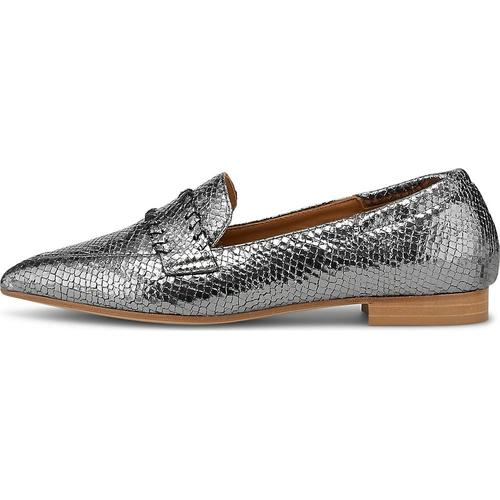 Thea Mika, Slipper in silber, Slipper für Damen Gr. 39