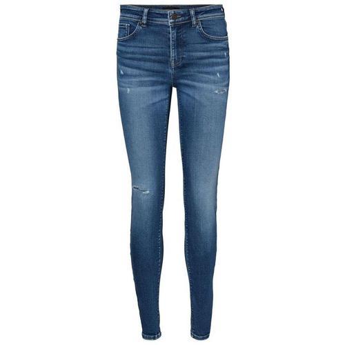 Vero Moda Vmlux Normal Waist Slim Fit Jeans