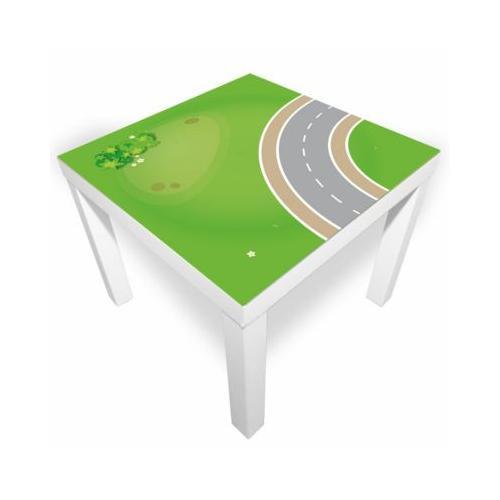 Spielmatte – Kurve grün/grau