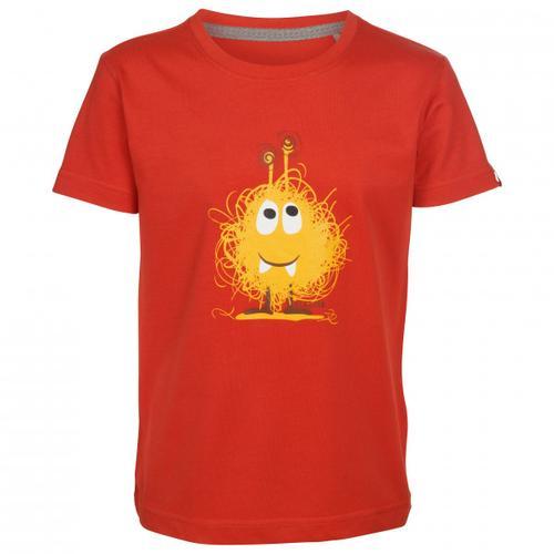Elkline - Kid's Monster - T-Shirt Gr 116/122 rot
