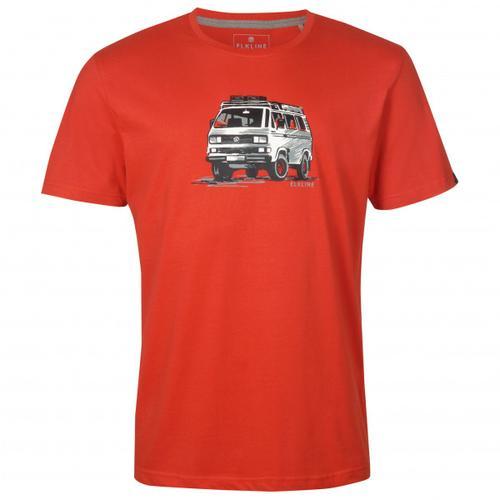 Elkline - Gassenhauer - T-Shirt Gr XXL rot