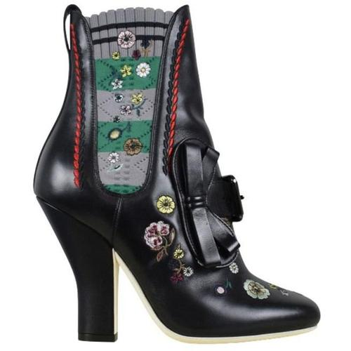 Fendi Flowers boots