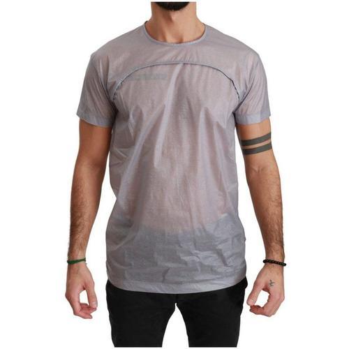 Dolce & Gabbana Durchsichtiges Rundhals-T-Shirt