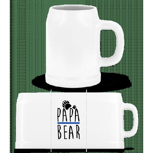 Papa Bear - Bierkrug