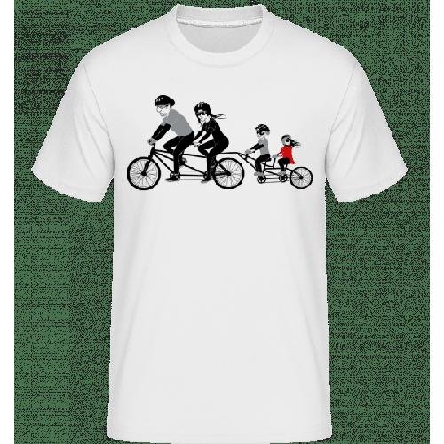 Fahrrad Familie - Shirtinator Männer T-Shirt