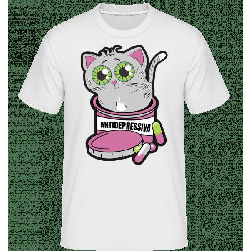 Antidepressiva Katze - Shirtinator Männer T-Shirt