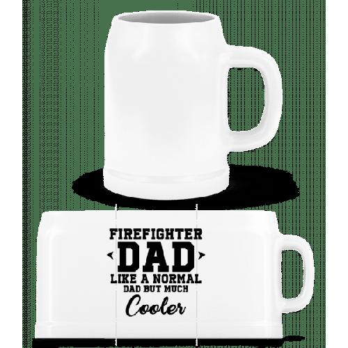 Cool Firefighter Dad - Bierkrug