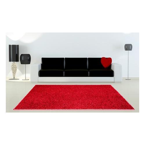 Teppich: Rot / 100 x 100 cm