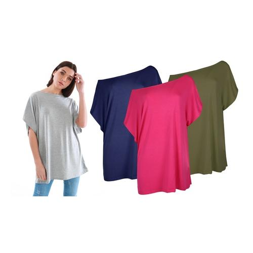 Oops Baggy-Top: Kirsche / Gr. 2XL-3XL