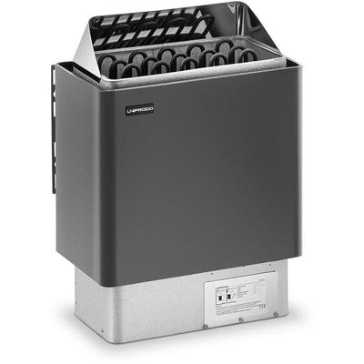 Poêle Radiateur Électrique Chauffage Pour Sauna Cabines 8 - 12 m³ - Uniprodo