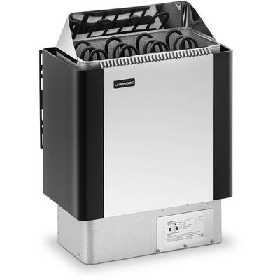 Poêle Radiateur Électrique Chauffage Fournitures Pour Sauna Cabines de 5-9 m³ - Uniprodo