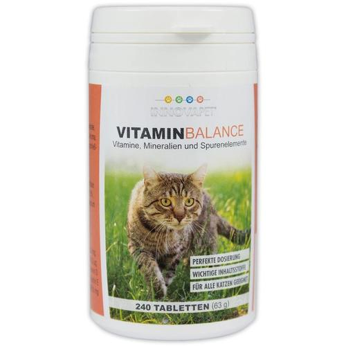 VITAMIN-Balance für Katzen 240 Tabletten (Vitamine, Mineralien und Spurenelemente in Tablettenform