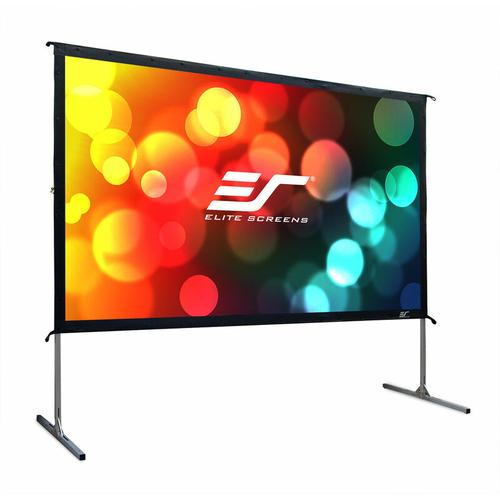 ELITE SCREENS Mobile Outdoor Rahmenleinwand Yard Master 2 222 x 125 cm, 16:9, 100', Rückprojektion