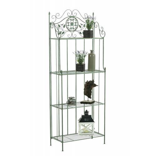 CLP - Standregal Flora-antik/grün