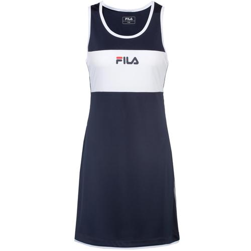 FILA Lola Tenniskleid Damen in peacoat blue, Größe M