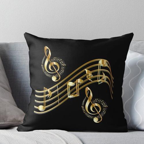 Musik: Noten, Tonleiter Kissen