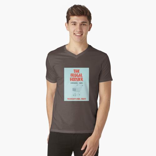 Der sparsame Hoosier t-shirt:vneck