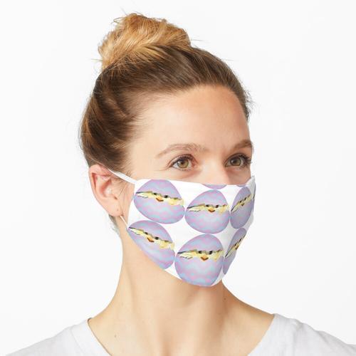 Neu geschlüpft Maske