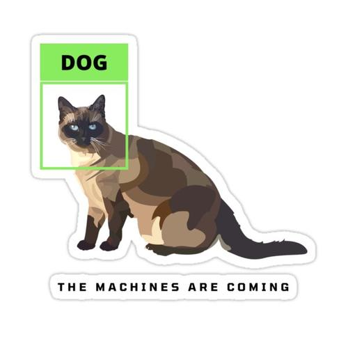 The Machines are Coming Sticker