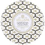 Gardenia Colonia 3 Wick Tin Cand...