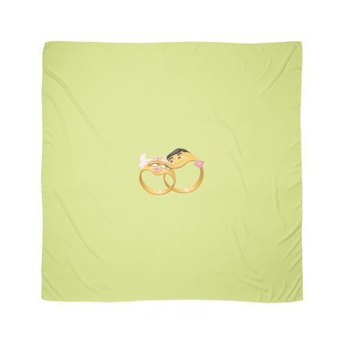 Lustige Eheringe Tuch
