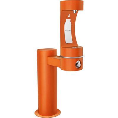 Elkay LK4410BFFRKORN Outdoor Hydroboost Bottle Filling Station - Non Refrigerated, Freeze Resistant, Orange