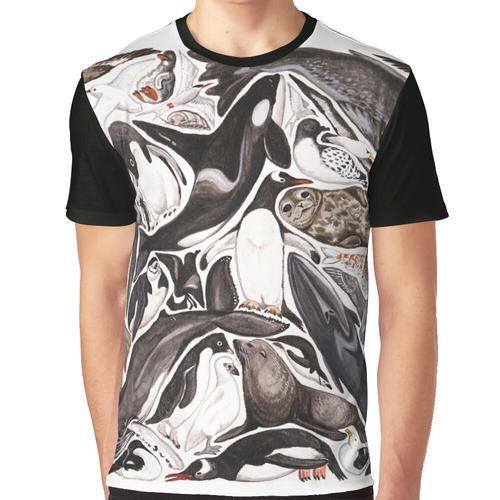 Dichtungen Grafik T-Shirt