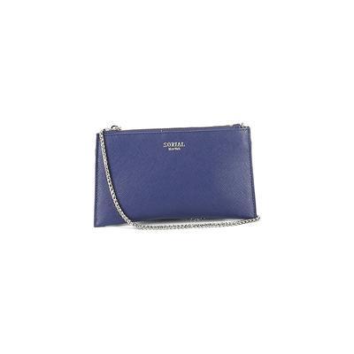 Sorial Crossbody Bag: Blue Solid Bags