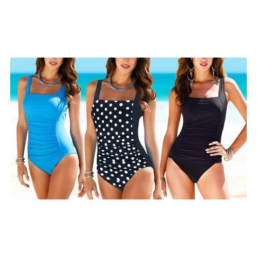 Damen-Badeanzug: Blau / Gr. S