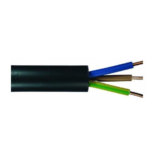 Erdkabel NYY-J 3 x 1,5 - 50 Meter, schwarz