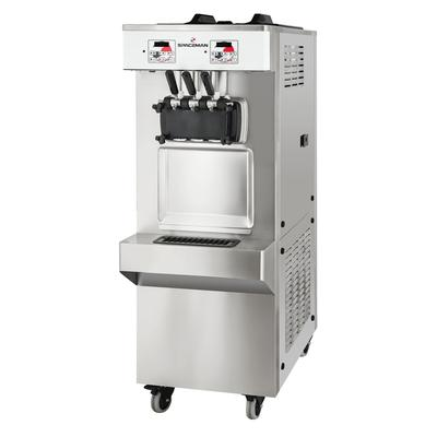 Spaceman 6378A-C Soft Serve Ice Cream Machine w/ (2) 7 1/2 qt Flavor Hoppers, 208 230v, 1ph