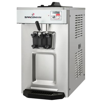 Spaceman 6236-C Soft Serve Ice Cream Machine w/ (1) 15 9/10 qt Flavor Hopper, 208230v, 1 ph
